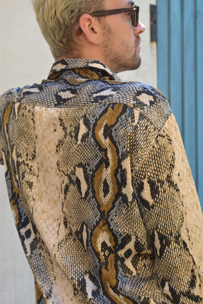 The anaconda snake shirt
