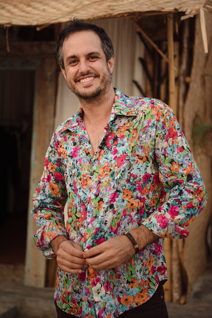 Multi Coloured Floral Shirt