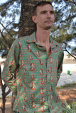 Frida Kahlo green shirt.