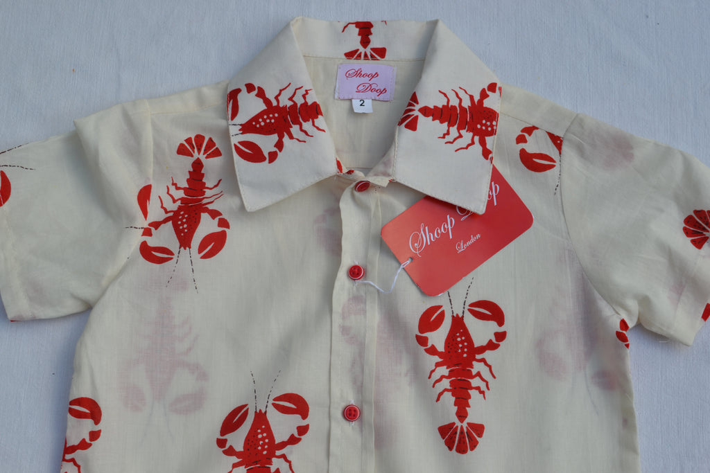 Red Lobster Short Sleeve Shirts