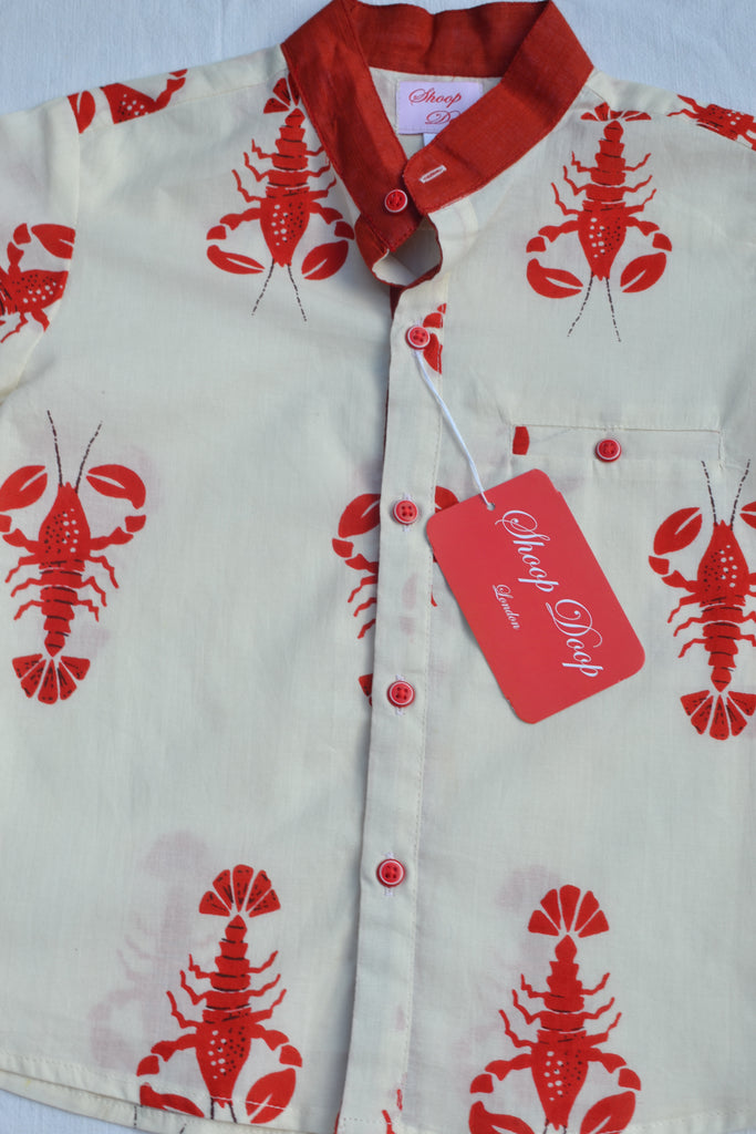 Red Lobster kids grandfather shirt