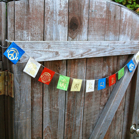 PFC Mini Tibetan Peace Flags
