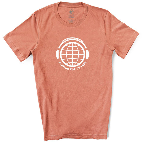 PFC Headphones Sunset T-Shirt (unisex)