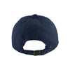 Peace Through Music Baseball Hat Navy/Yellow