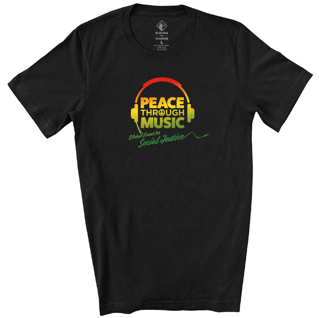 PTM Global Event Black T-Shirt (unisex)