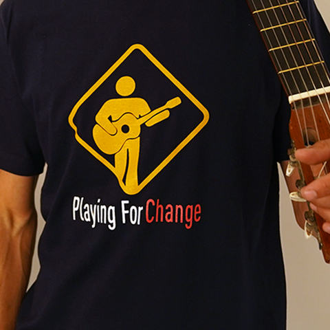 Organic Men's Playing For Change With Logo