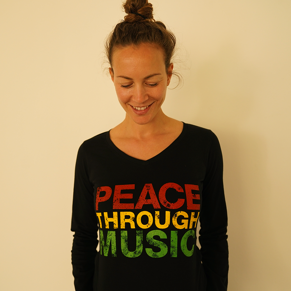 Organic Women's Peace Long Sleeve Top (TOP LILLY-ROSE)