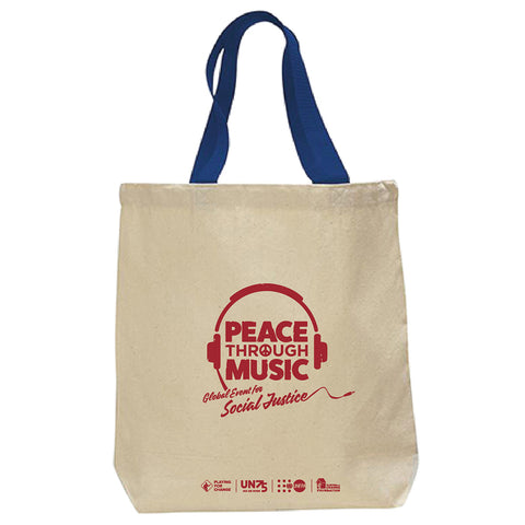 Global Event Tote Bag (Natural | Black)