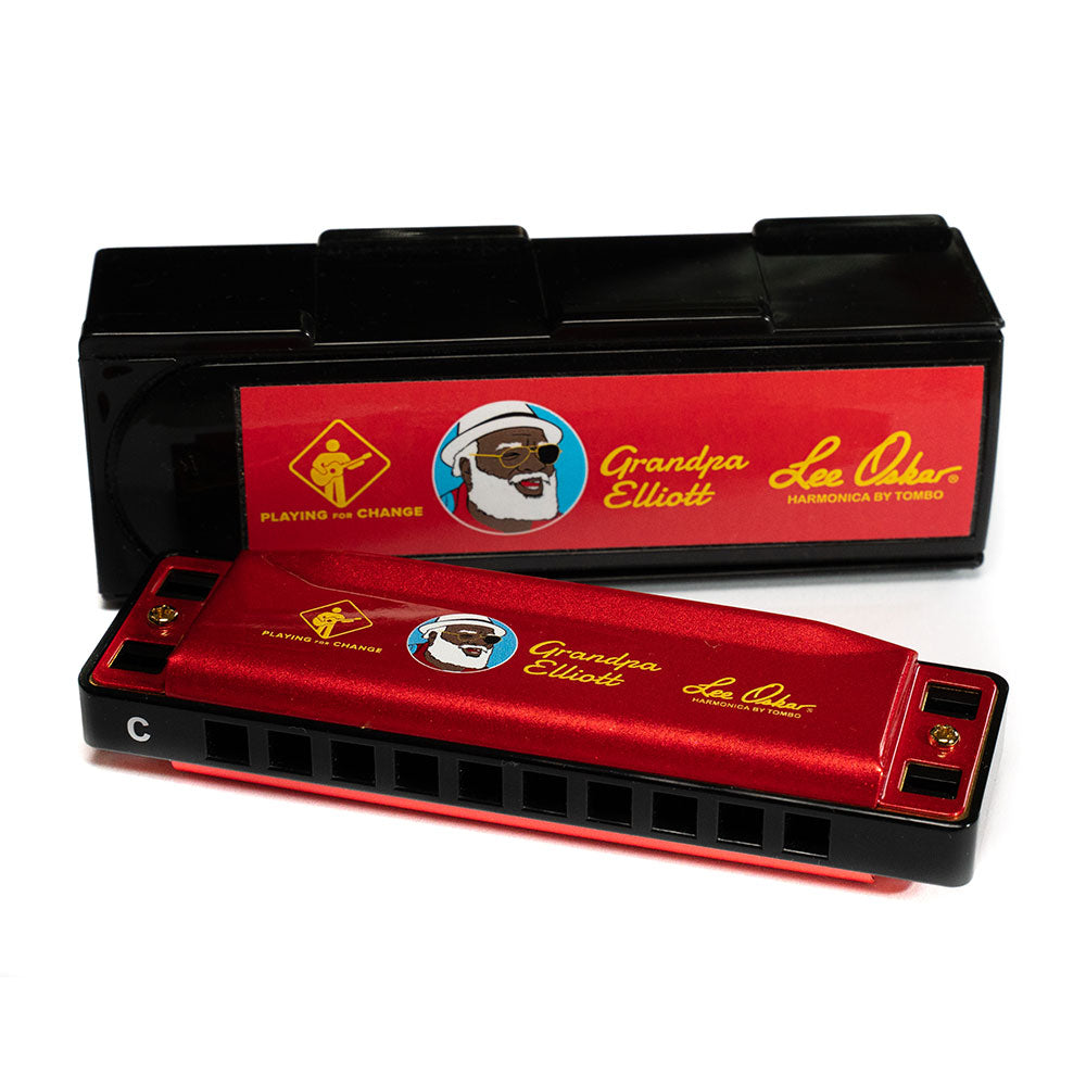 Lee Oskar Harmonica Grandpa Elliott Limited Edition
