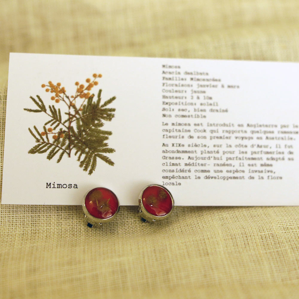 Roadside Flower's earring clip (12mm)