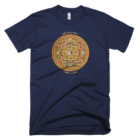 Gimme Shelter Nepal t-shirt | colors | Yin Yang
