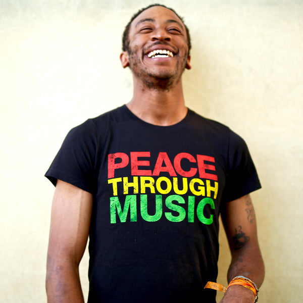 Men's Peace Through Music T-Shirt
