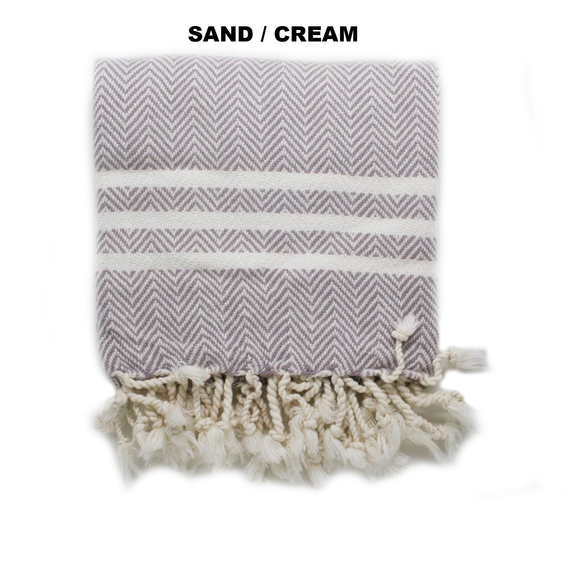 iL CANE - Twofer Towel S/M Chevron Pattern