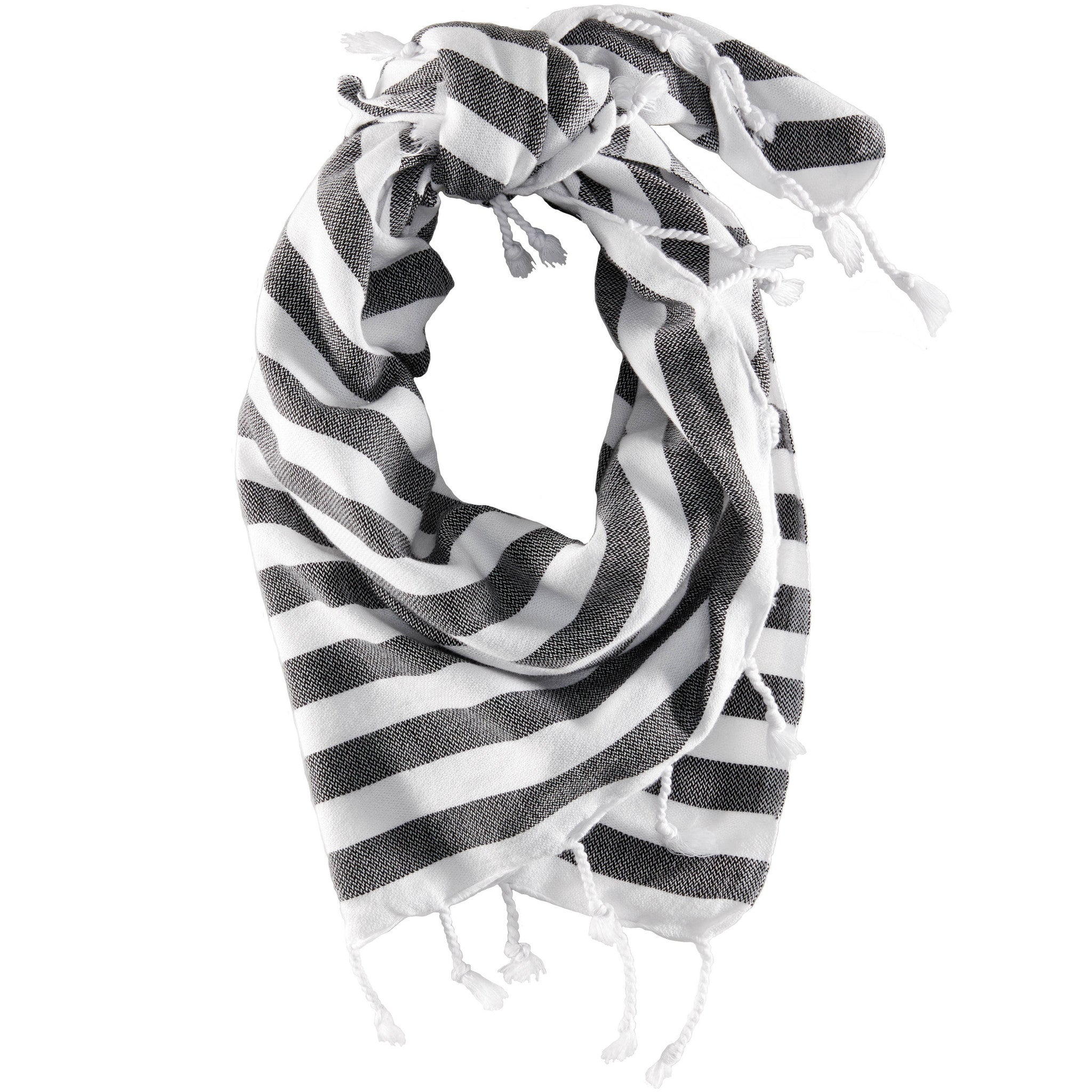 iL CANE - Twofer Towel M/L Even Stripe