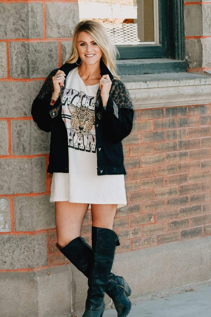 Wild Thang T-Shirt Dress