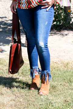 KanKan Frayed Out Jeans