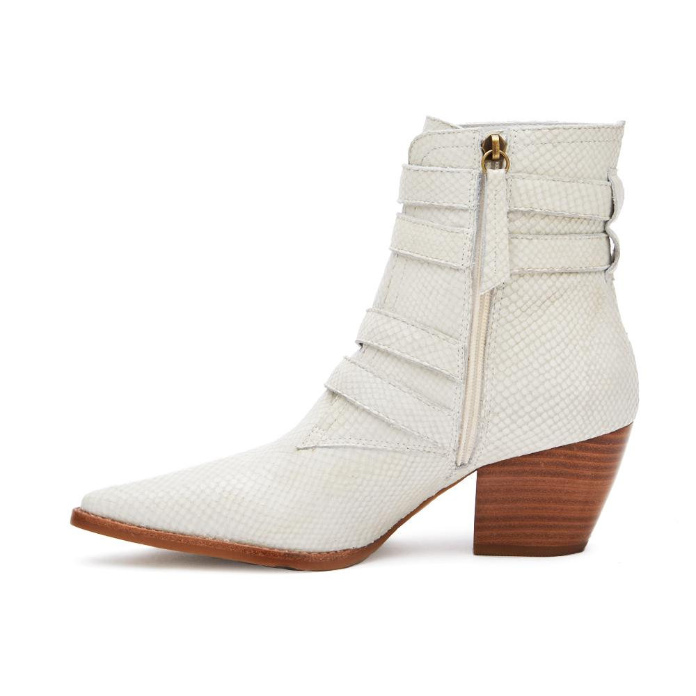 Matisse Harvey Multi Strap Boot in White - Rural Haze