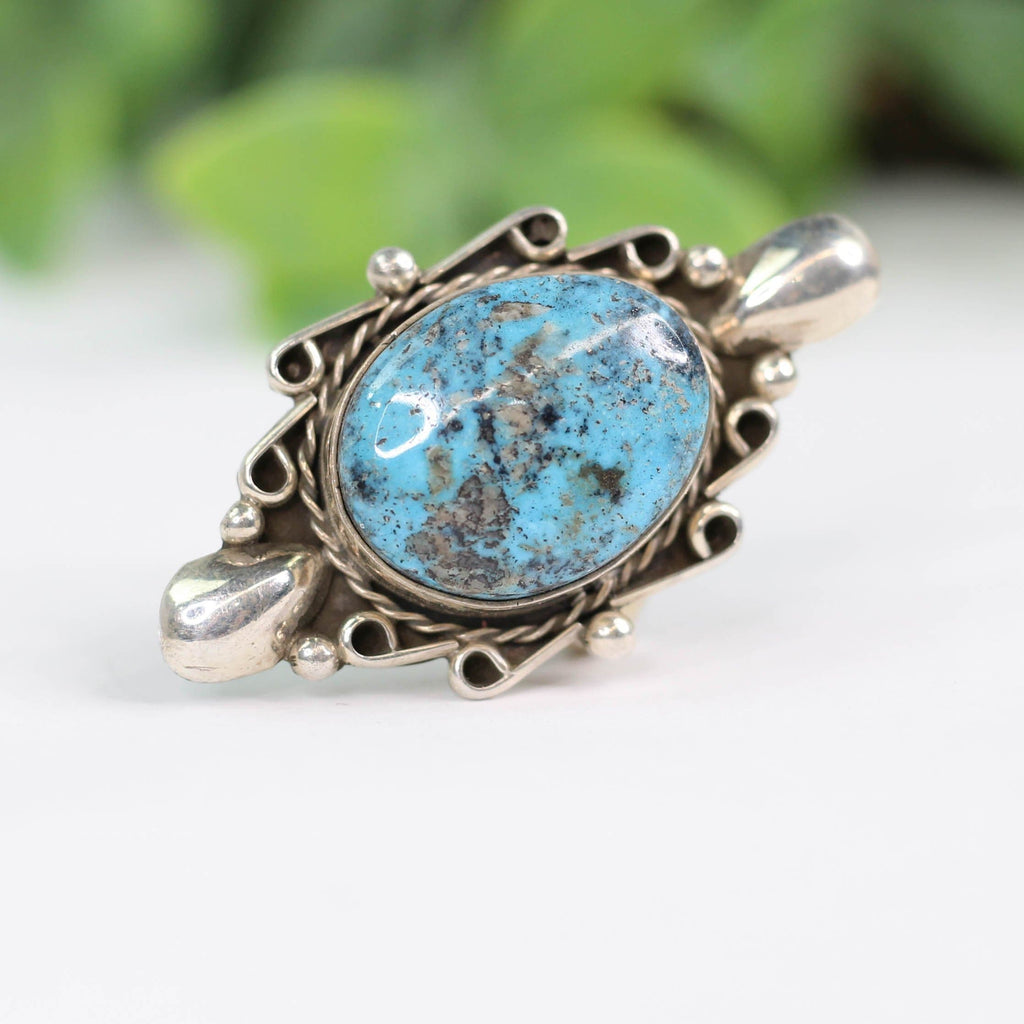 Merle House Turquoise Ring