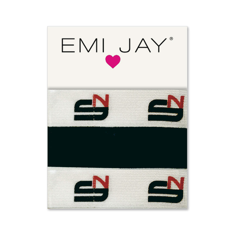 Emi Jay Swinney Nutrition Logo Hair Ties