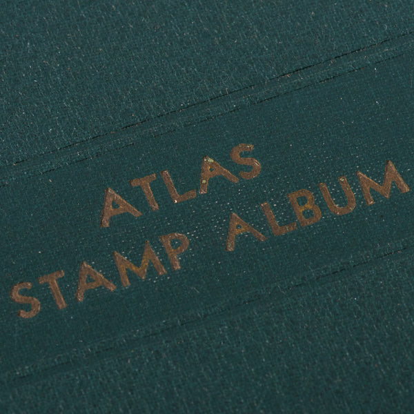 Elbe Vintage Atlas Stamp Album