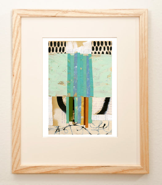 Mixed Media Collage [Framed]