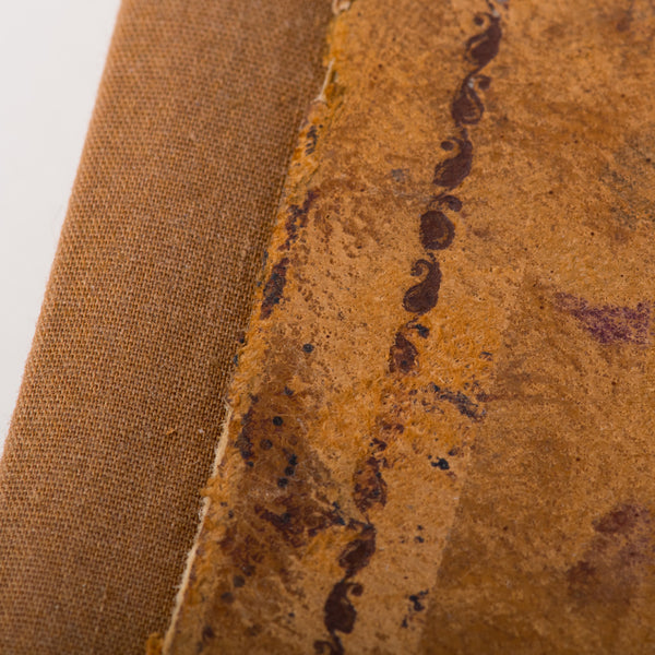 One of a Kind Journal / Upcycled 1830 Book Cover