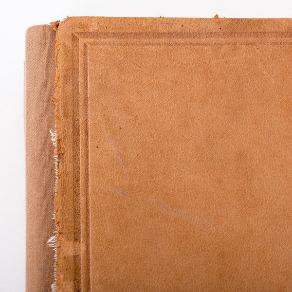One of a Kind Journal / Upcycled 1906 Book Cover