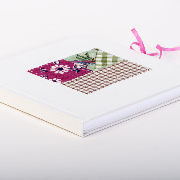 Handbound Book with Vintage Fabric Cover
