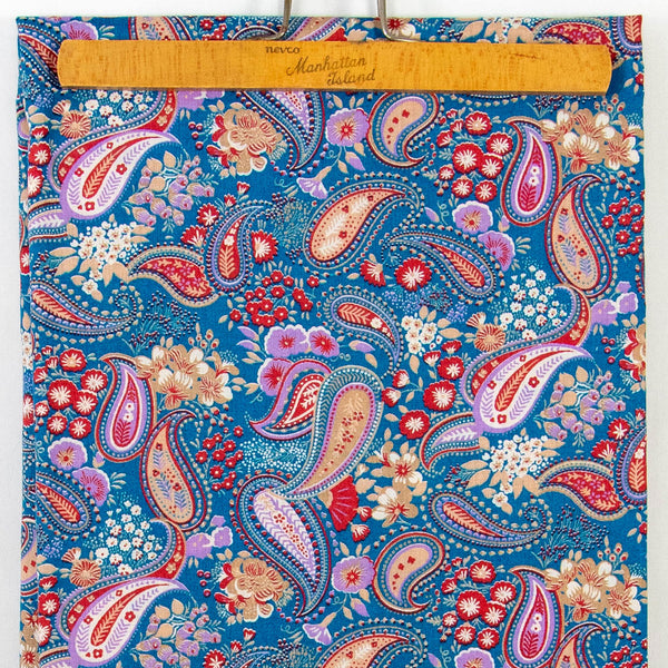 Vintage Paisley Fabric at Twine and Quill