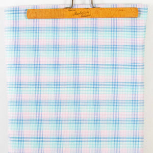 Pastel Plaid Vintage Fabric [2Yds]