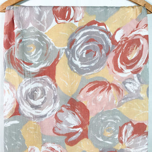 Large Print Floral Fabric