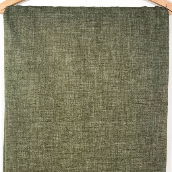 Army Green Vintage Chambray Fabric [3+Yds]