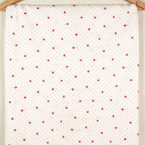 Cotton Cherry Vintage Fabric