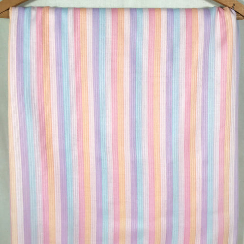 Vintage Dimity Striped Fabric