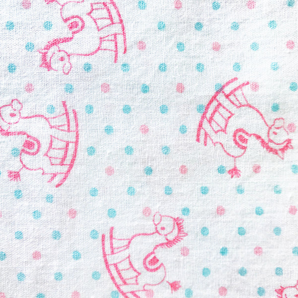 Rocking Horse Vintage Fabric [1.75+Yds]