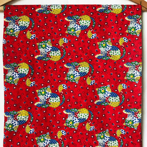 Calico Kitten Vintage Fabric [2+Yds]