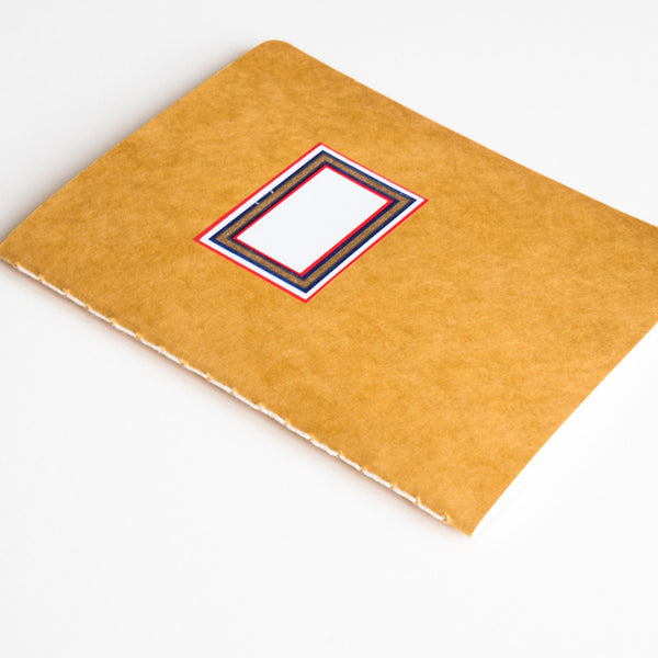 Portugal Label Hand Stitched Notebook