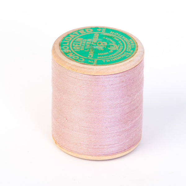 Irish Linen Carpet Thread Large Pink Spool