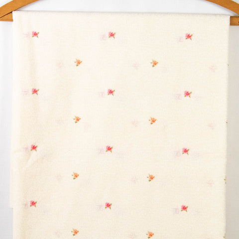 Vintage Fabric 1970s Floral Border