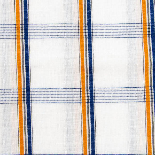 Plaid Shirt Fabric / 1+ Yard