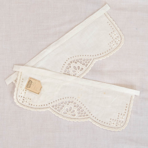 Antique Edwardian Cotton Cuffs