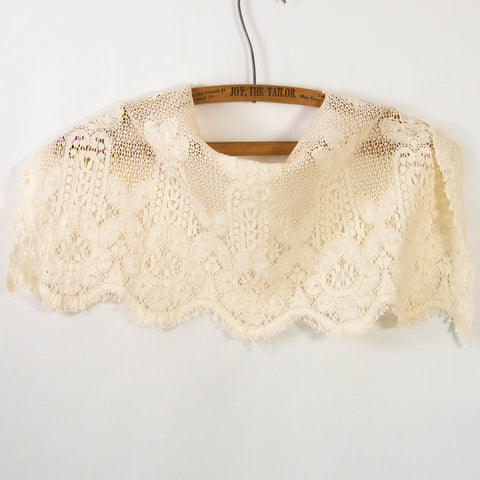 Antique Edwardian Crochet Cotton Remnant