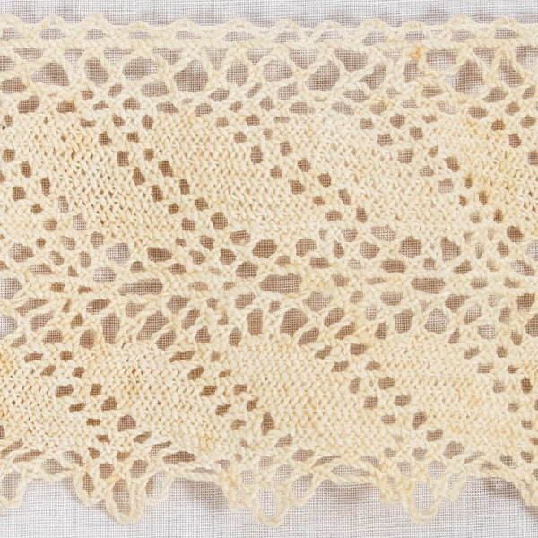 Crocheted Cotton Lace / 5+ Yards