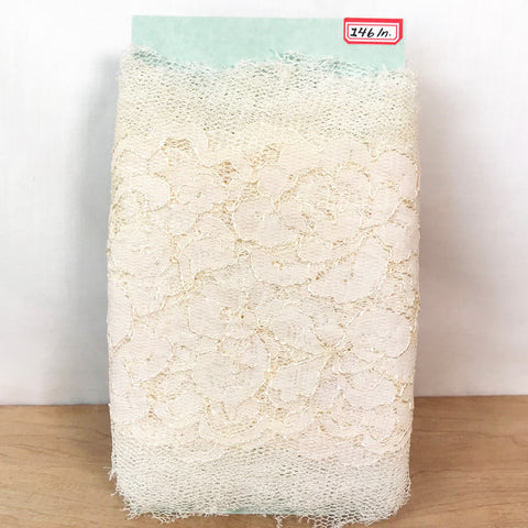 Vintage Wedding Lace / 4+ Yards