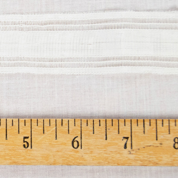 Vintage Cotton Ribbon Trim / 2+ Yards