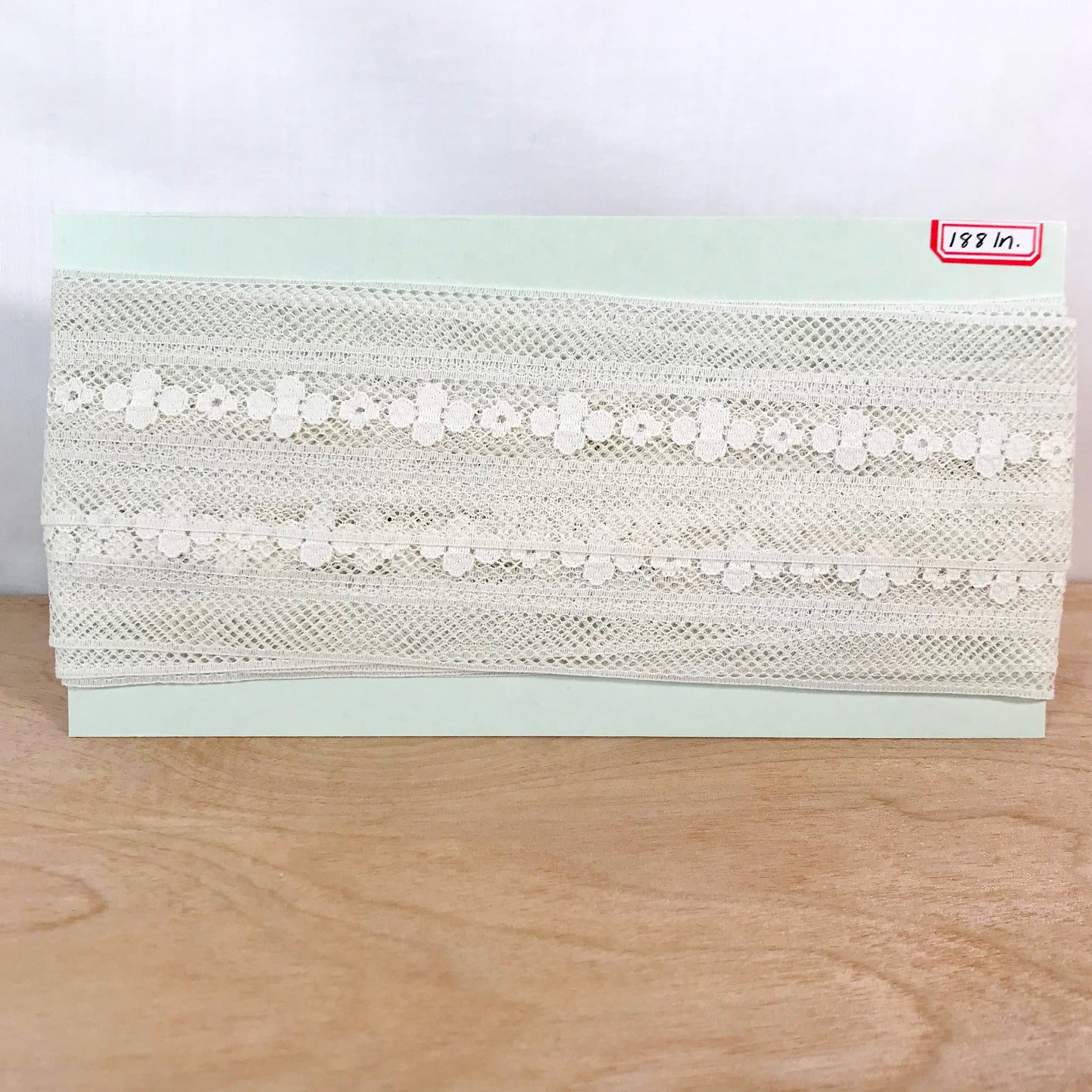 Vintage Floral Mesh Lace / 5+ Yards