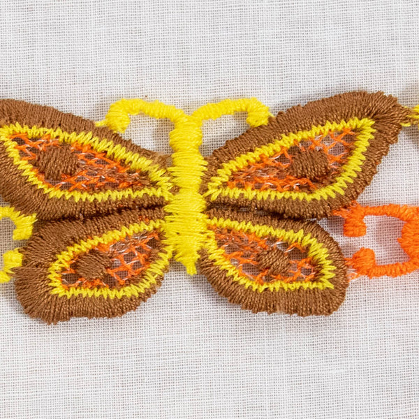 Novelty Butterfly Sewing Trim / 4+ Yards