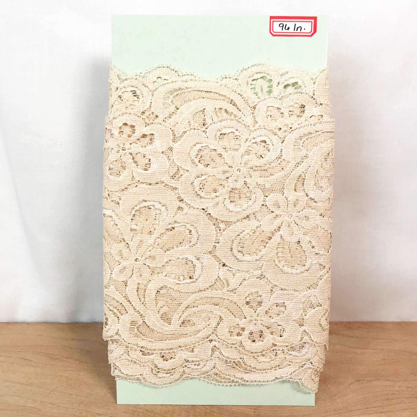 Ivory Floral Bridal Lace / 2+ Yards