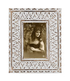 Harstad Carved Mango Wood Picture 4x6 picture frame