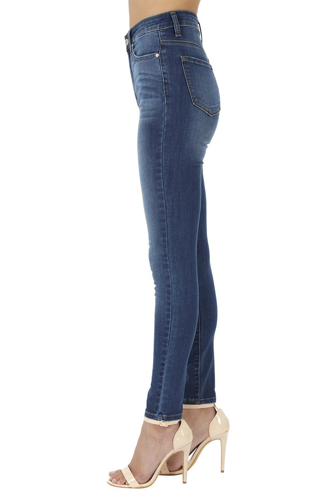 Super High Rise Basic Super Skinny - Medium Wash